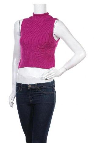 Дамски пуловер, Размер S, Цвят Лилав, Цена 31,50лв.