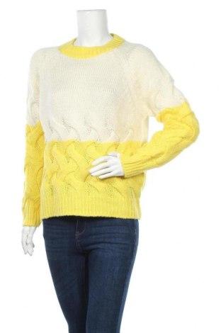 Дамски пуловер, Размер M, Цвят Жълт, Цена 8,40лв.
