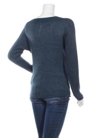 Дамски пуловер, Размер S, Цвят Син, Акрил, Цена 40,50лв.