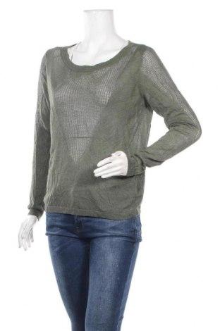 Дамски пуловер, Размер M, Цвят Зелен, Цена 6,83лв.