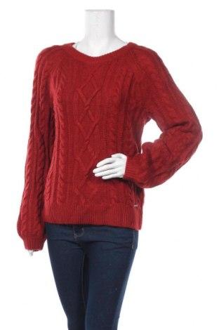 Γυναικείο πουλόβερ Abercrombie & Fitch, Μέγεθος L, Χρώμα Κόκκινο, 58% βαμβάκι, 42%ακρυλικό, Τιμή 31,82€