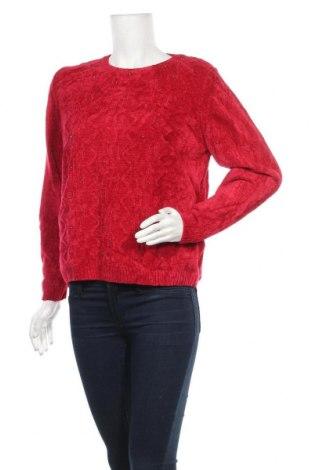 Γυναικείο πουλόβερ Alfred Dunner, Μέγεθος M, Χρώμα Κόκκινο, Ακρυλικό, Τιμή 12,86€