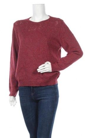 Дамски пуловер Alfred Dunner, Размер L, Цвят Червен, Цена 19,85лв.