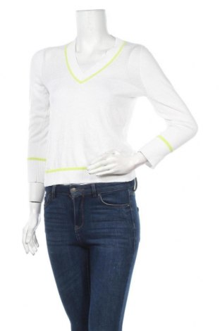 Дамски пуловер Armani Exchange, Размер XS, Цвят Бял, 60% памук, 40% полиестер, Цена 24,15лв.