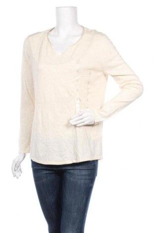 Γυναικείο πουλόβερ Camaieu, Μέγεθος XL, Χρώμα  Μπέζ, 99% βαμβάκι, 1% μεταλλικά νήματα, Τιμή 13,39€