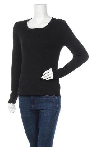 Γυναικείο πουλόβερ Camaieu, Μέγεθος L, Χρώμα Μαύρο, 52% βισκόζη, 48%ακρυλικό, Τιμή 14,20€