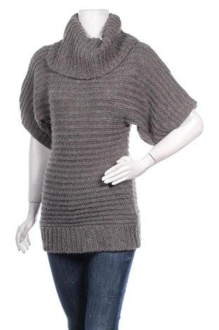 Дамски пуловер Clockhouse, Размер XS, Цвят Сив, 95% акрил, 5% полиамид, Цена 6,30лв.