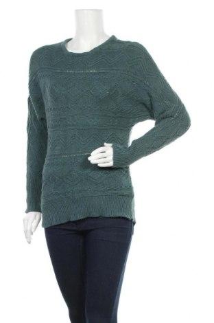 Дамски пуловер Cynthia Rowley, Размер M, Цвят Зелен, Памук, Цена 37,91лв.