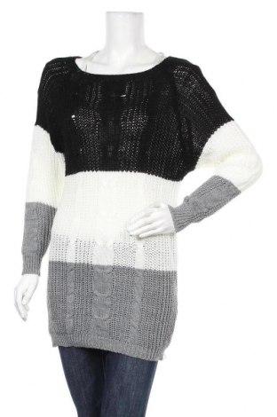 Γυναικείο πουλόβερ Emma Lou, Μέγεθος M, Χρώμα Πολύχρωμο, 70%ακρυλικό, 30% μαλλί, Τιμή 11,55€