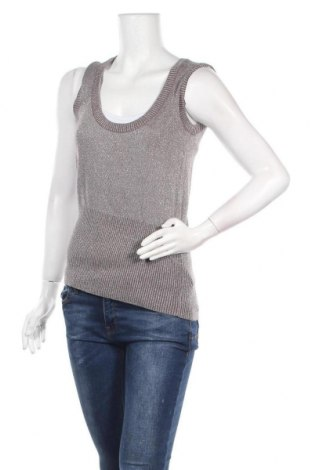 Γυναικείο πουλόβερ Essentiel, Μέγεθος M, Χρώμα Καφέ, 75% βαμβάκι, 25% μεταλλικά νήματα, Τιμή 7,05€