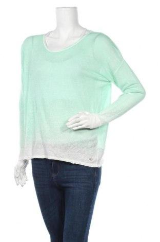 Γυναικείο πουλόβερ Frieda & Freddies, Μέγεθος M, Χρώμα Πράσινο, 65% λινό, 35% βισκόζη, Τιμή 35,24€