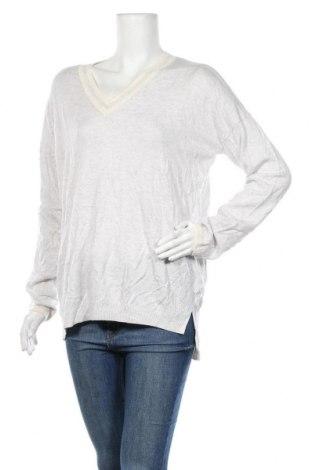 Дамски пуловер Gap, Размер L, Цвят Сив, 55% полиамид, 30% вълна, 15% акрил, Цена 9,77лв.