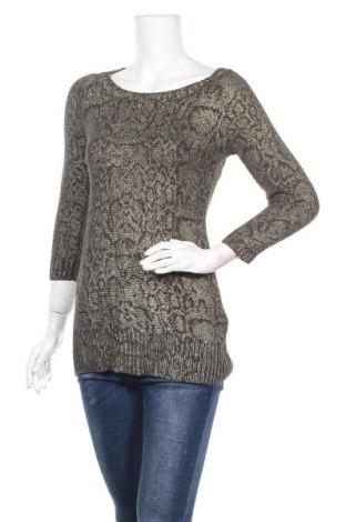 Дамски пуловер INC International Concepts, Размер S, Цвят Зелен, 56% памук, 39% акрил, 3% други материали, 2% метални нишки, Цена 16,10лв.