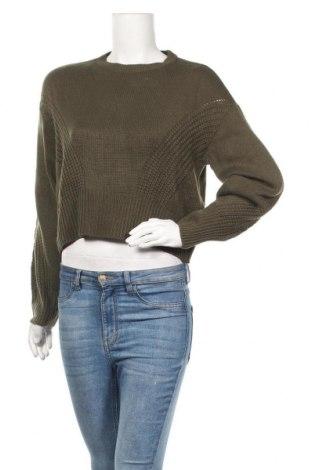 Дамски пуловер Jacqueline De Yong, Размер S, Цвят Зелен, Акрил, Цена 43,50лв.