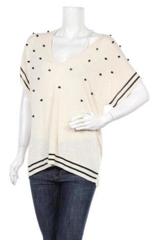 Дамски пуловер Lauren Vidal, Размер S, Цвят Бежов, Вискоза, Цена 42,57лв.
