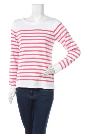 Дамски пуловер Le Phare De La Baleine, Размер L, Цвят Бял, 50% памук, 50% акрил, Цена 36,57лв.