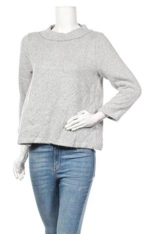 Дамски пуловер Loft, Размер L, Цвят Сив, 73% акрил, 24% полиестер, 3% еластан, Цена 12,08лв.