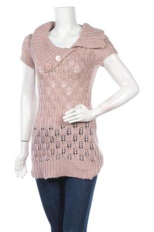 Дамски пуловер Love By Design, Размер M, Цвят Розов, Акрил, Цена 13,65лв.