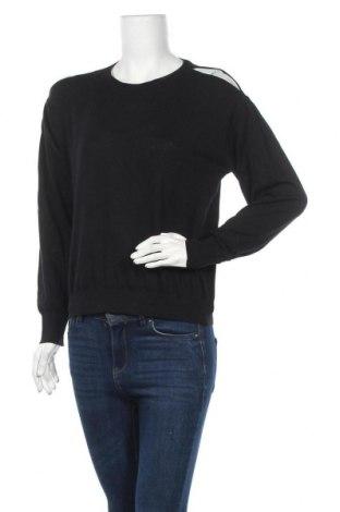 Дамски пуловер Mango, Размер M, Цвят Черен, 60% памук, 30% полиестер, 10% вискоза, Цена 13,57лв.