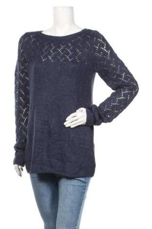 Γυναικείο πουλόβερ Maurices, Μέγεθος M, Χρώμα Μπλέ, 54% πολυεστέρας, 42%ακρυλικό, 4% άλλα νήματα, Τιμή 14,03€