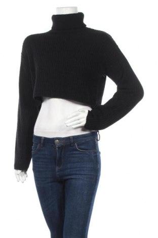 Дамски пуловер Missguided, Размер S, Цвят Черен, 80% акрил, 18% полиамид, 2% еластан, Цена 31,50лв.