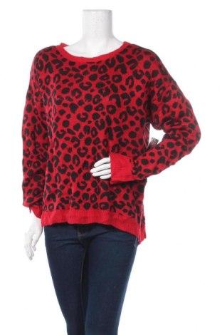 Дамски пуловер No Boundaries, Размер XXL, Цвят Червен, Акрил, Цена 20,79лв.