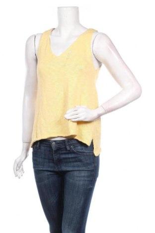 Дамски пуловер Noisy May, Размер M, Цвят Жълт, 100% памук, Цена 12,25лв.