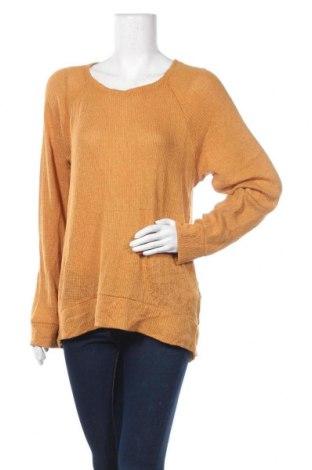 Дамски пуловер Old Navy, Размер L, Цвят Оранжев, 76% вискоза, 20% полиестер, 4% еластан, Цена 6,93лв.