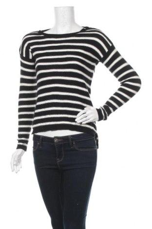 Дамски пуловер Pink Rose, Размер XS, Цвят Черен, 60% памук, 40% акрил, Цена 7,35лв.