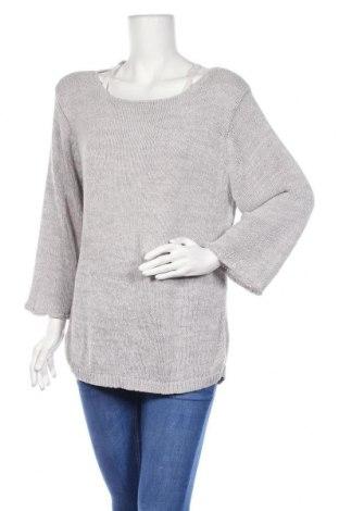 Дамски пуловер S.e.a.l, Размер XL, Цвят Сив, 57% вискоза, 43% полиестер, Цена 15,02лв.