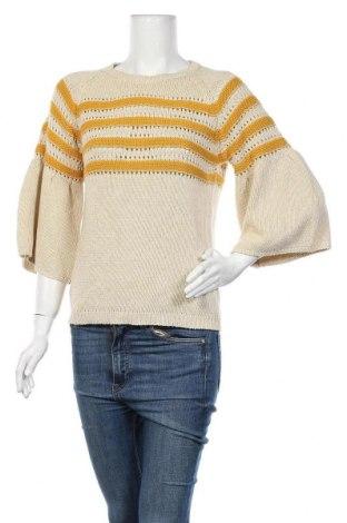 Γυναικείο πουλόβερ Stella Forest, Μέγεθος S, Χρώμα  Μπέζ, 50% βαμβάκι, 50%ακρυλικό, Τιμή 31,55€
