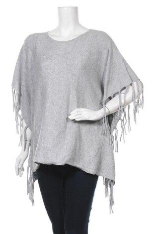 Дамски пуловер Tom Tailor, Размер M, Цвят Сив, 70% памук, 30% полиамид, Цена 51,75лв.