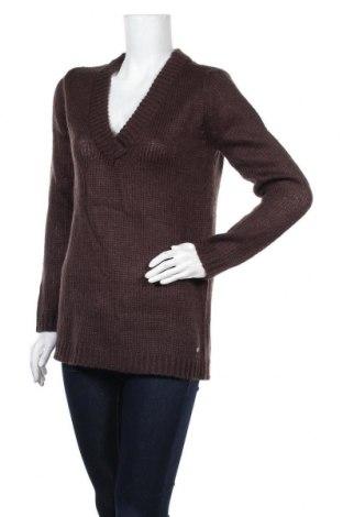 Дамски пуловер Top Secret, Размер S, Цвят Кафяв, 80% акрил, 10% вълна, 10% мохер, Цена 14,22лв.