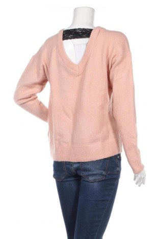 Дамски пуловер Vero Moda, Размер XL, Цвят Розов, 77% акрил, 20% полиамид, 3% еластан, Цена 13,57лв.