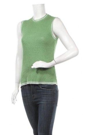 Дамски пуловер Vero Moda, Размер M, Цвят Зелен, 93% акрил, 7% полиамид, Цена 18,95лв.