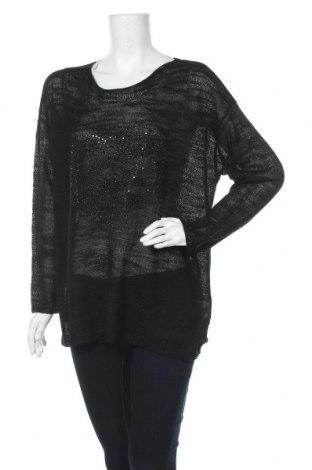 Γυναικείο πουλόβερ Via Appia, Μέγεθος XL, Χρώμα Μαύρο, 80% πολυακρυλικό, 20% πολυαμίδη, Τιμή 30,60€