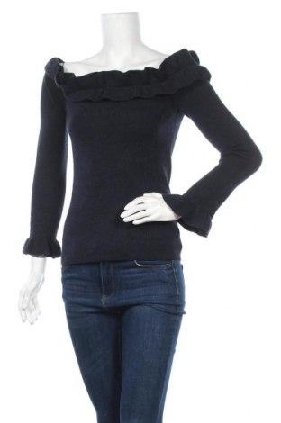 Дамски пуловер White House / Black Market, Размер XS, Цвят Син, 44% полиестер, 34% полиамид, 16% акрил, 6% вълна, Цена 11,29лв.