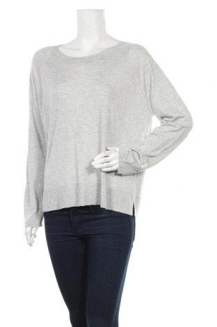Дамски пуловер Zara, Размер L, Цвят Сив, 50% вискоза, 50% акрил, Цена 25,97лв.