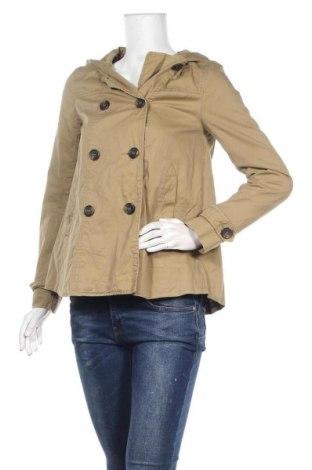 Дамски шлифер H&M Divided, Размер XS, Цвят Бежов, Памук, Цена 9,71лв.
