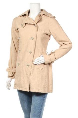 Дамски шлифер Jennifer Taylor, Размер S, Цвят Бежов, 76% вискоза, 24% полиамид, Цена 13,51лв.