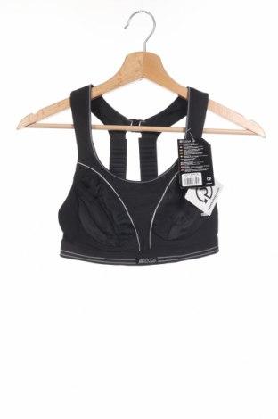 Γυναίκειο αθλητικό τοπ Shock Absorber, Μέγεθος S, Χρώμα Μαύρο, 81% πολυαμίδη, 10% πολυεστέρας, 9% ελαστάνη, Τιμή 13,64€