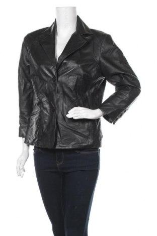 Дамско кожено сако Danier, Размер M, Цвят Черен, Естествена кожа, Цена 97,76лв.