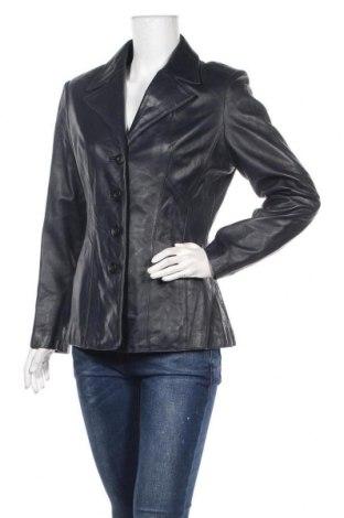Γυναικείο δερμάτινο σακάκι Wilsons Leather, Μέγεθος M, Χρώμα Μπλέ, Γνήσιο δέρμα, Τιμή 43,65€