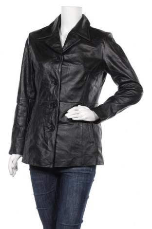 Γυναικείο δερμάτινο μπουφάν Wilsons Leather, Μέγεθος S, Χρώμα Μαύρο, Γνήσιο δέρμα, Τιμή 28,06€