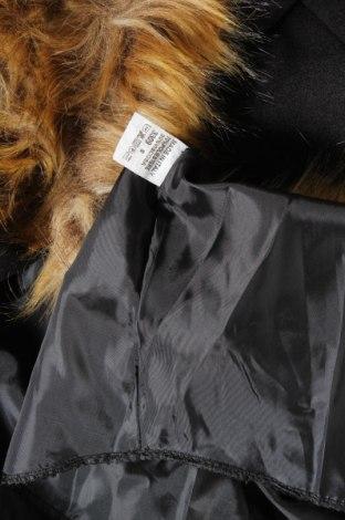Дамско палто, Размер S, Цвят Черен, 70% полиестер, 30% вискоза, Цена 25,20лв.