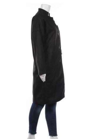 Дамско палто, Размер M, Цвят Черен, 80% вълна, 20% полиестер, Цена 78,00лв.