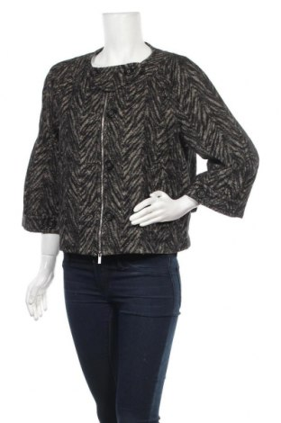 Дамско палто BCBG Max Azria, Размер M, Цвят Черен, 54% памук, 28% вълна, 9% полиамид, 7% мохер, 2% други нишки, Цена 127,68лв.
