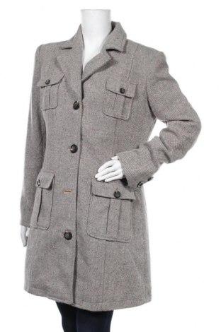 Γυναικείο παλτό Gin Tonic, Μέγεθος M, Χρώμα Γκρί, 55% μαλλί, 35% πολυεστέρας, 7% πολυακρυλικό, 3% πολυαμίδη, Τιμή 18,32€
