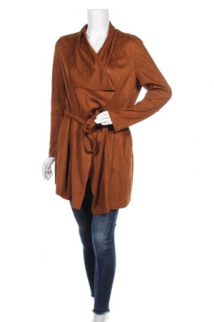 Дамско палто Glamorous, Размер S, Цвят Кафяв, Полиестер, Цена 24,60лв.