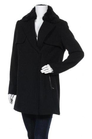 Дамско палто Jake*s, Размер M, Цвят Черен, 50% вълна, 25% акрил, 15% полиамид, 10% полиамид, Цена 59,07лв.